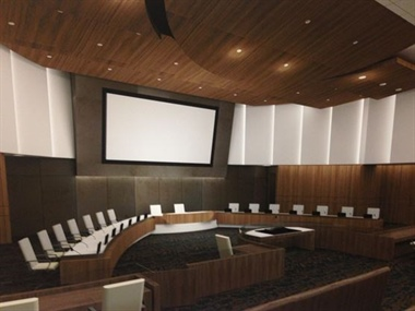 Council reviews Chamber redesign