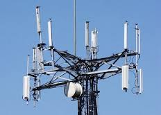 cell transmitters on tower